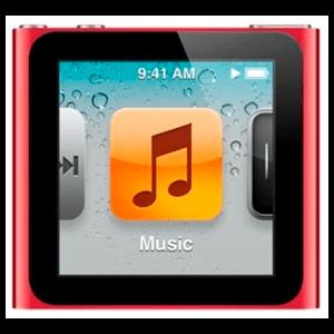 iPod Nano 6ª Gen 8Gb (Rojo)