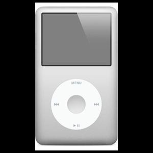 iPod Classic 6ª Gen 80 Gb Plata