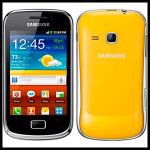 Samsung Galaxy Mini 2 4Gb (Amarillo) - Libre -