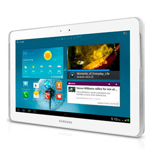 Samsung G. Tab 2 10.1 Wifi 16Gb  (Blanco)***