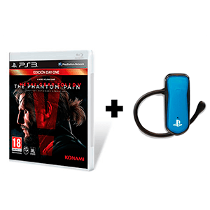 Metal Gear Solid V + Auricular Bluetooth Oficial Sony