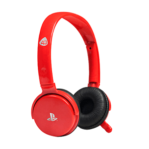 Auriculares 4Gamers CP-01 Rojos -Licencia oficial Sony-