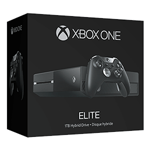Xbox One 1TB Naked Elite + Controller Elite