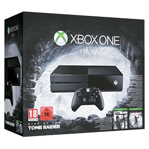 Xbox One 1Tb + Rise of theTomb Raider