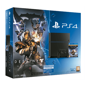 Playstation 4 500Gb + Destiny El Rey de los Poseidos