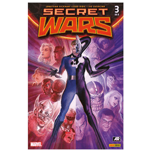 Comic Marvel Secret Wars nº 3