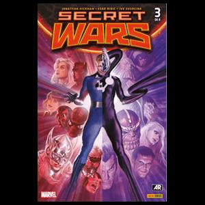 Comic Marvel Secret Wars nº 3