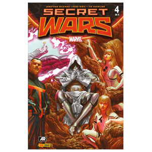 Comic Marvel Secret Wars nº 4