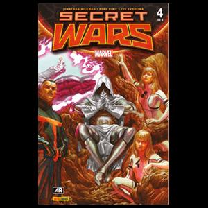 Comic Marvel Secret Wars nº 4