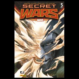 Comic Marvel Secret Wars nº 5
