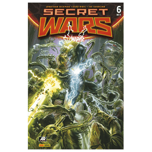 Comic Marvel Secret Wars nº 6