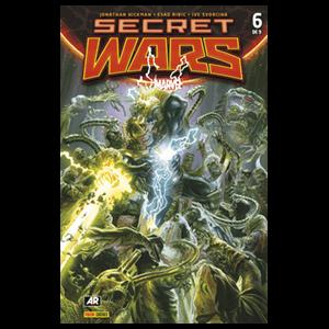 Comic Marvel Secret Wars nº 6