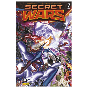 Comic Marvel Secret Wars nº 7