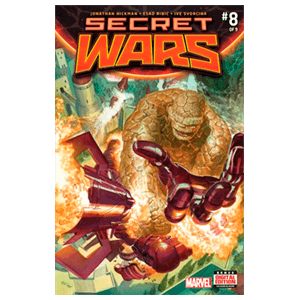 Comic Marvel Secret Wars nº 8