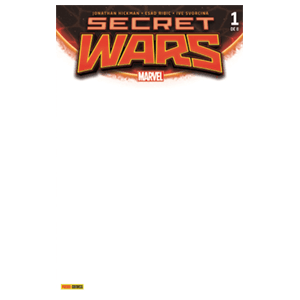 Comic Marvel Secret Wars nº 1 Portada Blanca