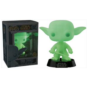 Figura Pop Star Wars Yoda Espíritu