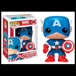 Figura Pop Marvel Capitán América