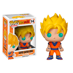 Figura Pop Dragon Ball Goku Saiyan