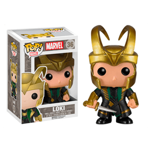 Figura Pop Marvel Loki