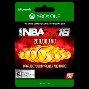 NBA 2K16 200,000 VC Xbox One