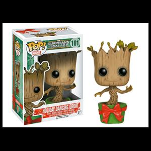 Figura Pop Groot Bailarín Navideño