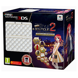 New 3DS Blanca + New Style Boutique 2: Marca Tendencias Preinstalado