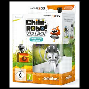 Chibi-Robo! Zip Lash + Figura Chibi-Robo Amiibo