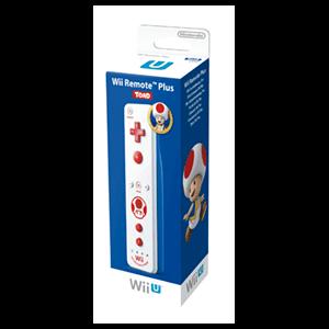 Mando Wii U Remote Plus Edición Toad