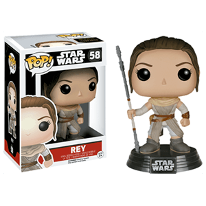 Figura Pop Star Wars VII: Rey