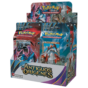 Baraja 60 Cartas Pokemon Origenes Antiguos XY7
