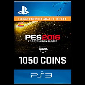 PES 1050 myClub Coins PS3