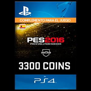 PES 3300 myClub Coins PS4