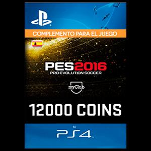 PES 12000 myClub Coins PS4