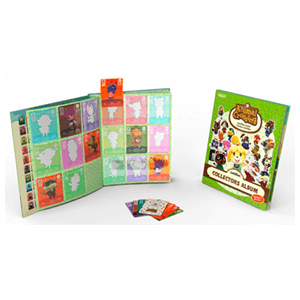 Pack 3 Tarjetas Amiibo Animal Crossing Happy Home Designer + Album