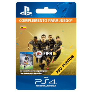 x 750 FIFA 16 Points PS4