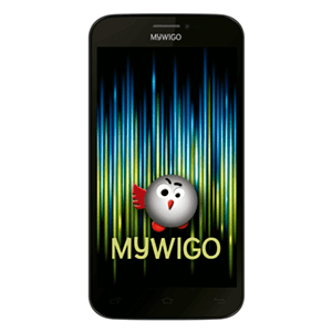 """Smartphone Mywigo Magnum 5"""" IPS Quad Core 1Gb+8Gb Negro"""