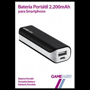 Batería Portátil 2200mAh GAMEware