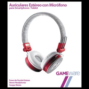 Auriculares Estéreo con Micrófono GAMEware