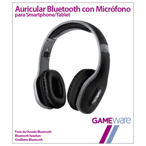 Auriculares Bluetooth con Micrófono GAMEware