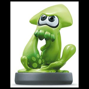 Figura Amiibo Splatoon Calamar