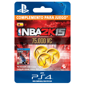 NBA 2K16 75000 VC PS4