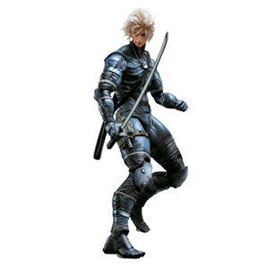 Figura Play Arts MGS II Raiden