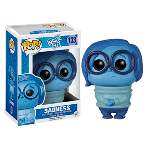 Figura Pop Inside Out Tristeza