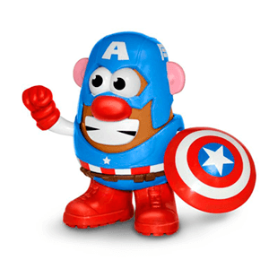 Muñeco Mr. Potato Capitan America