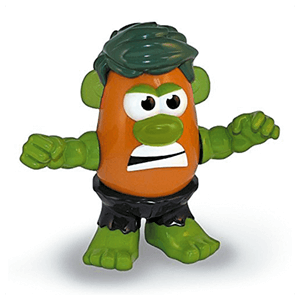 Muñeco Mr. Potato El Increible Hulk