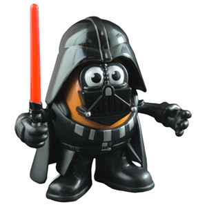 Muñeco Mr. Potato Darth Vader