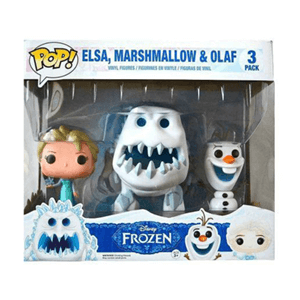 Set de 3 Figuras Pop Frozen