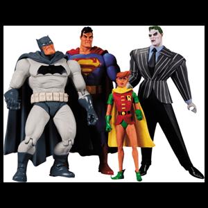 Caja 4 Figuras Batman El Caballero Oscuro