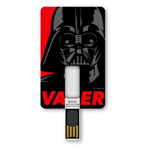 Memoria Tarjeta USB 8GB Star Wars Darth Vader