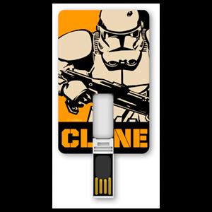 Memoria Tarjeta USB 8GB Star Wars Clonetrooper